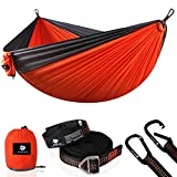 Anyoo Fallschirm Hängematte für Outdoor Garten tragbare Camping Schaukel Kapazität