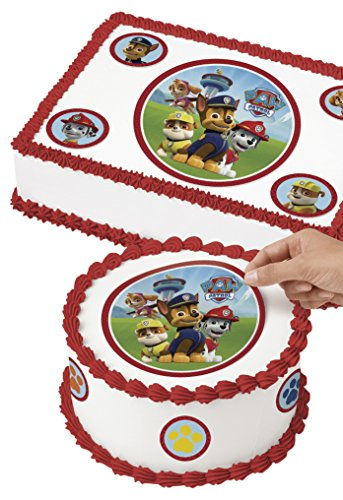 Wilton 710-7910 PAW Patrol Edible Images Cake Decorating Kit, Multicolor