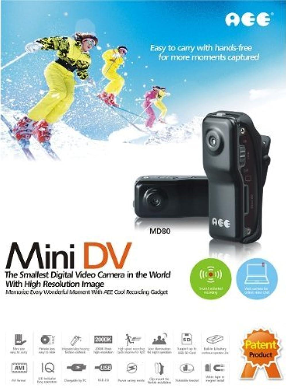 うなる領事館キリスト教世界最小クラス 超小型 ビデオカメラ miniDV ブラック アウトドア?ビジネス?スポーツシーンに!!