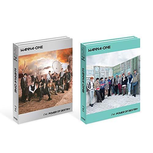 Wanna One Stone Music Entertainment 1¹¹=1 Power of Destiny [Adventure+Romance Ver. Set] (Vol.1) 2CD+Photobook+2Sticker+2Photocard+Golden Ticket+2Folded Poster+Extra Photocards Set