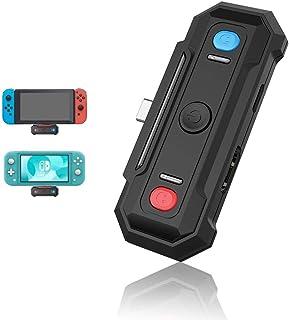 【2020最新版】 Switch Bluetooth オーディオアダプタ TUTUO 2-in-1 TV出力変換アダプタ, と無線オーディオアダプタ,Switch用TV出力変換、デ一タ、ビデオ