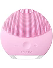 Foreo Luna Mini 2 Elektrische Gezichtsreinigingsborstel, 1 Stuk, Pearl Pink