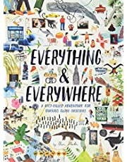 Everything & Everywhere: A Fact-Filled Adventure for Curious Globe-Trotters [Idioma Inglés]: A Fact-Filled Adventure for Curious Globe-Trotters ... Adventure Book, World Fact Book for Kids)