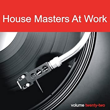 House Masters At Work, Vol. 22