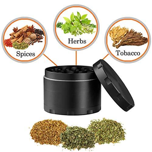 Product Image 1: iLC Grinder Especias, Tabaco, Hierbas Grinder Metálico Con Polen Colector 2