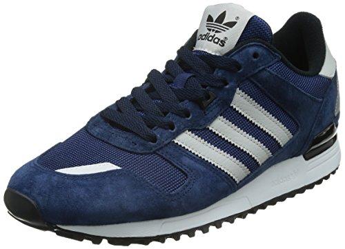 adidas Men's ZX 700 Trainers, Multicoloured (Navy Blue/White/Black (Maruni/Grpulg/Negbas), 4.5