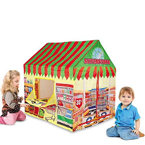 Seasons Shop Play Tent - Girl Play Tent Children's Room In The Nursery/Indoor/Outdoor Fruit House Princess House Fire Yuan Zoo Game House Military Tent Simulation Children's Tent kind