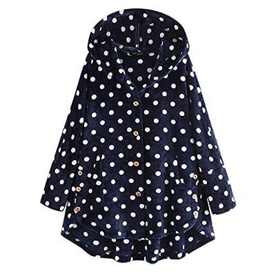Damen Mantel Frauen Dot