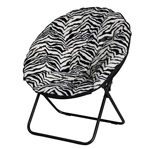 Campingstuhl Zebra Muster Outdoor Camping Freizeit tragbare klappstuhl faul Stuhl Hochschule schlafsaal Stuhl Sofa Stuhl Balkon zurück mond Stuhl wattepad (5 Farben) Klappstuhl