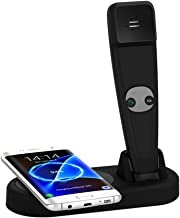 Wireless Charger for Iphone 8/8Plus, Letoo Fast Wireless Charging Pad with Wireless Handset for Iphone X, Samsung Galaxy S8/S8 Edge, S7/S7 Edge, S6/S6 edge, Note5, Note 7 and All Qi-Enabled Devices