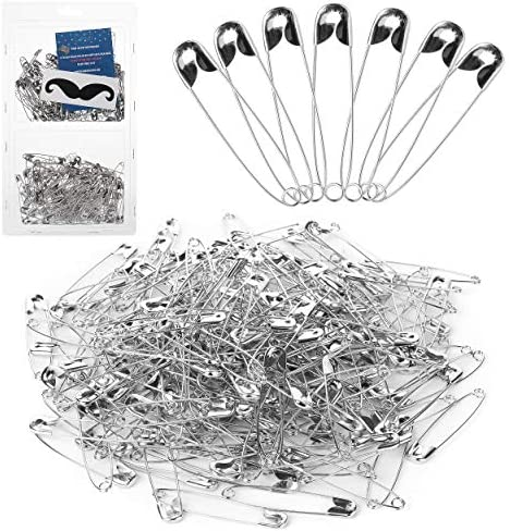 Mr Pen Silver Safety Pins 2 1 Inches Pack of 200 product image