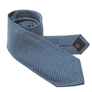 ネクタイ ブランド カルバンクライン ナローネクタイ(7cm幅) CK11 ブルーグレー/グレー [並行輸入品]