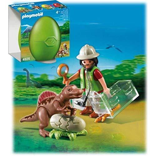 PLAYMOBIL: Huevo Científico Bebé Dinosau