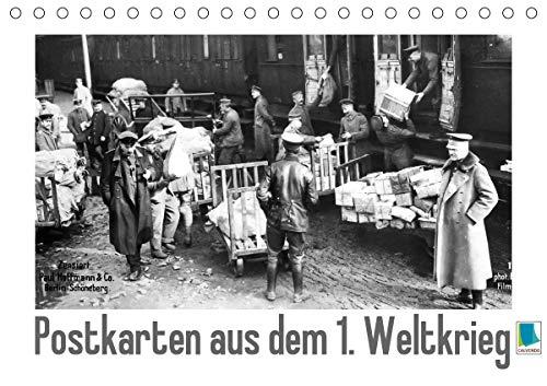 Postkarten aus dem 1. Weltkrieg (Tischkalender 2021 DIN A5 quer)