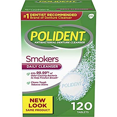 Polident Smokers Denture Cleanser