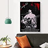 DCPPCPD Leinwand Druck Poster Lauryn Hill 2 Poster und