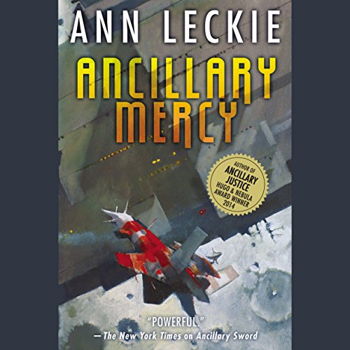 Ancillary Mercy audiobook cover art