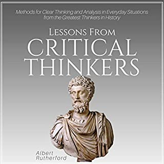 Lessons from Critical Thinkers audiobook cover art