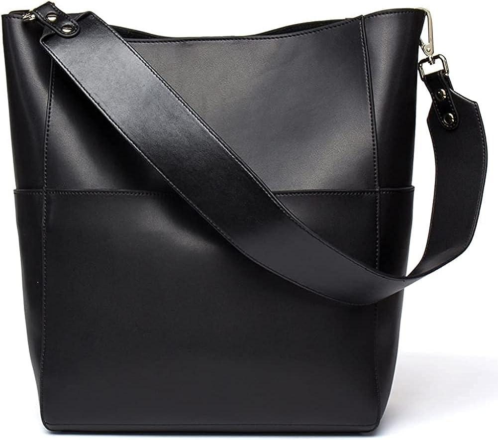 Seammer Ranking Max 68% OFF TOP9 Genuine Leather Hobo Bucket Handbags Women for Designer