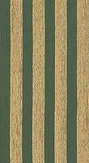 Raumausstatter.de Venus CS 3104 - Tela para tapizar (Resistente Tejido a Rayas para Coser y relacionar, difícilmente inflamable), diseño de Rayas, Color Verde y Amarillo