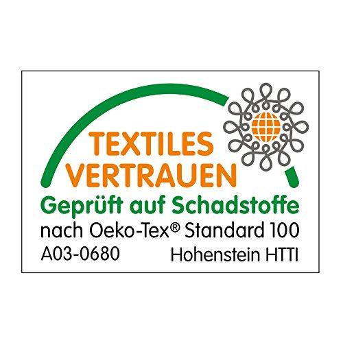 Alvi Reisebettmatratze Komfort 60×120 cm/Höhe 6 cm – Matratze für Baby Reisebett mit Baumwollbezug und Tasche, atmungsaktiv, waschbar, schadstoffgeprüft - 7