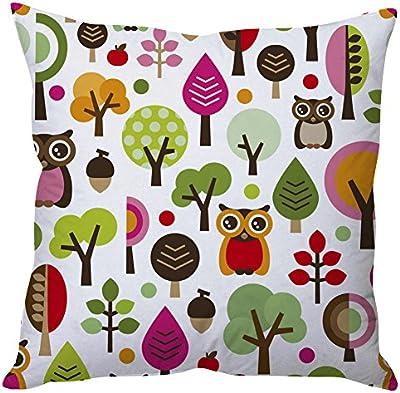 The Purple Tree Designer Cushion Covers (5 Piece)