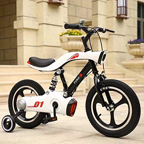 Amazing Deal Ssltdm Boys Girls Children's Bicycles 3-10 Years Old Children's Bicycles Baby 14-inch I...