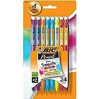 24-Count BIC Pencil Xtra Smooth Color Edition Medium Point