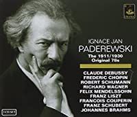 Jgnace Jan Paderewski The 1911/1930 Original 78RPM