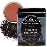 Harney & Sons Victorian London Fog | 4oz Loose Leaf Tea w/ Bergamot, Lavender, and Vanilla, Hearty English Black Tea Blend