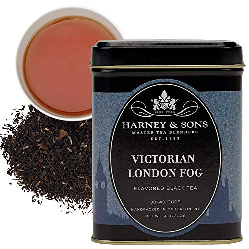 Harney & Sons Victorian London Fog, 4 oz Loose Leaf Tea