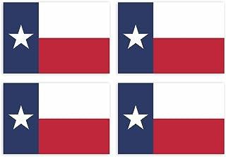 Kiwistar Aufkleber 4,5 x 3 cm Texas Austin   Bundesstaat Autoaufkleber USA Flagge Länder Wappen Fahne Sticker Kennzeichen