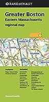 Rand McNally Greater Boston: Eastern Massachusetts Regional Map