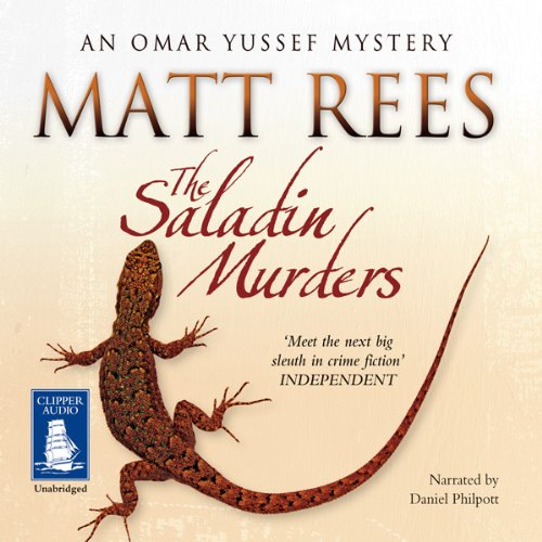 The Saladin Murders audiobook cover art
