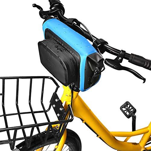 Zdmathe Lenker Tasche, wasserdichte Mountainbike-Beutel, große Kapazität MTB Road Lenker Front Tasche multifunktionale Taille