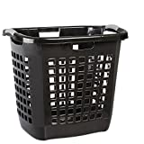 STERILITE Black Ultra Easy 19-7/8'BLK Carry Hamper