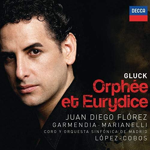 Juan Diego Flórez, Ainhoa Garmendia, Orquesta Sinfónica de Madrid, Jesús López-Cobos & Christoph Willibald Gluck