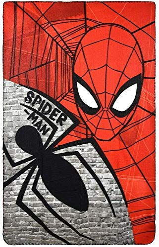 Marvel Spiderman manta de forro polar,
