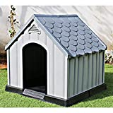 Ram Quality Products Innovative Outdoor Pet House Large Waterproof Dog Kennel Shelter for...