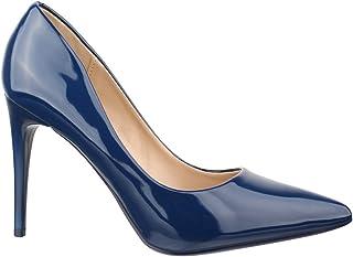 0e0f8fe4ced76 Amazon.fr : Escarpins Bleu Marine - Escarpins / Chaussures femme ...