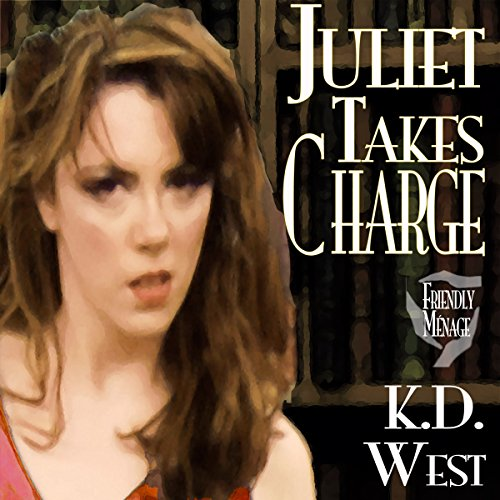Juliet Takes Charge audiobook cover art