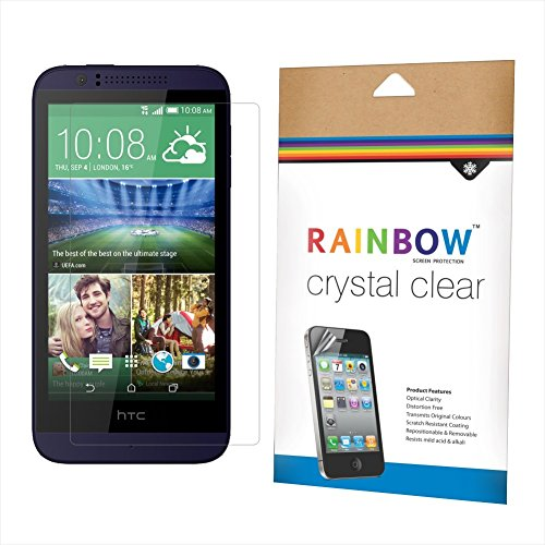 Rainbow Crystal Clear Protector Screen Guard for HTC Desire 510
