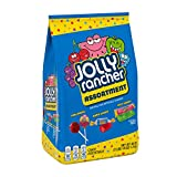 JOLLY RANCHER Lollipops, Hard Candy and Stix Assorted Fruit Flavored Candy, Valentine's Day, 46 Oz. Bag