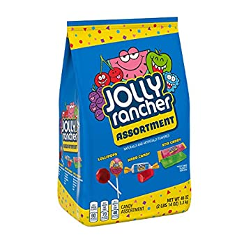 JOLLY RANCHER Lollipops Hard Candy and Stix Assorted Fruit Flavored Candy Bulk 46 oz Bag