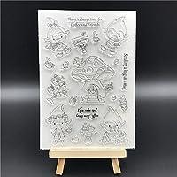 FRIEND Transparent Clear Silicone Stamp Seal DIY Scrapbooking photo Album Decorative A0630