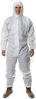 MOPP Abbigliamento Protettivo Chimico con Cappuccio Size : M Tuta Anti-Virus per Isolamento Anti-Virus