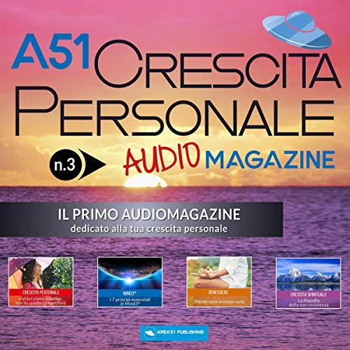 A51 Crescita Personale Audiomagazine 3 copertina