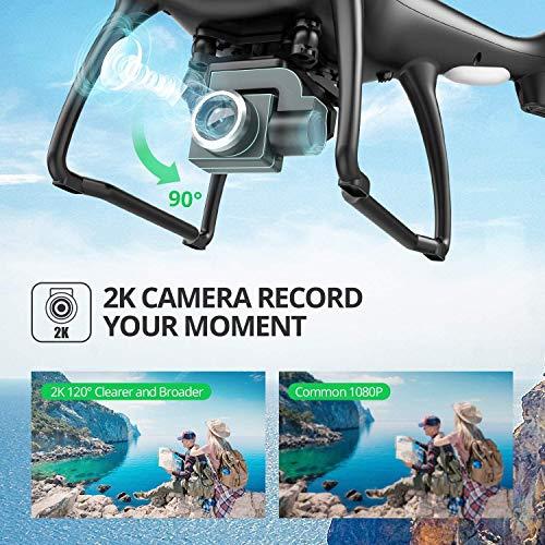 Drône Holy Stone HS100 avec Caméra HD 1080P 120°Grand Angle WiFi FPV,GPS Retour à La Maison,Maintien de l'altitude - 1