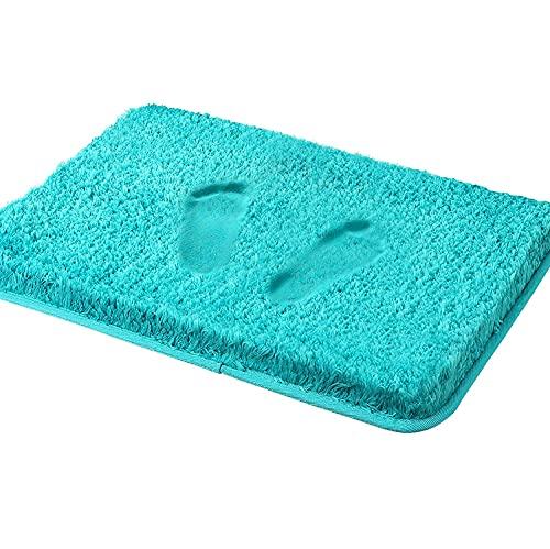 Tappetino da bagno Cumay assorbente, tappetino doccia posteriore in gomma antiscivolo, kit accessori...
