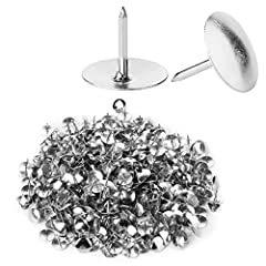 500pc silver color thumbtacks 3/8 inch diameter head, 5/16 inch needle point Perfect for use in schools, offices, homes, art projects, bulletin boards, pinning reminder notes, posters, marking maps and more Made from Steel. Rust and corrosion resista...